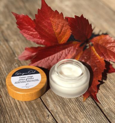 Crème visage peau sensible