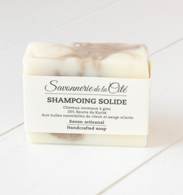 Shampoing Solide Sauge-Citron